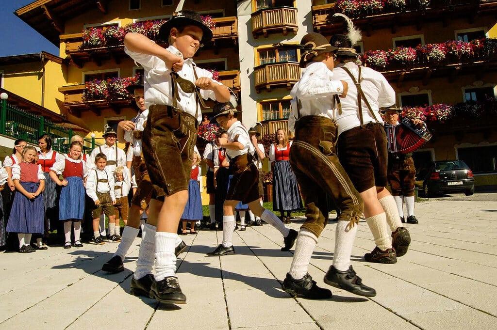 Germans Dancing