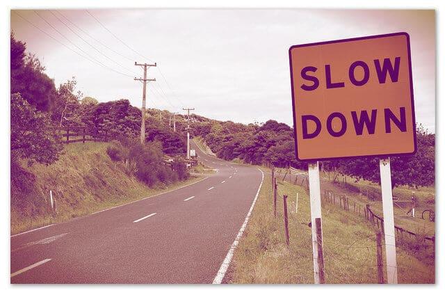 Fear of speaking - Slow down