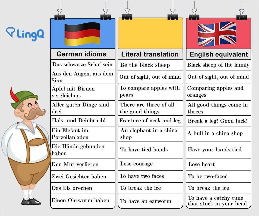 Want Your German to Impress? Learn These German Idioms