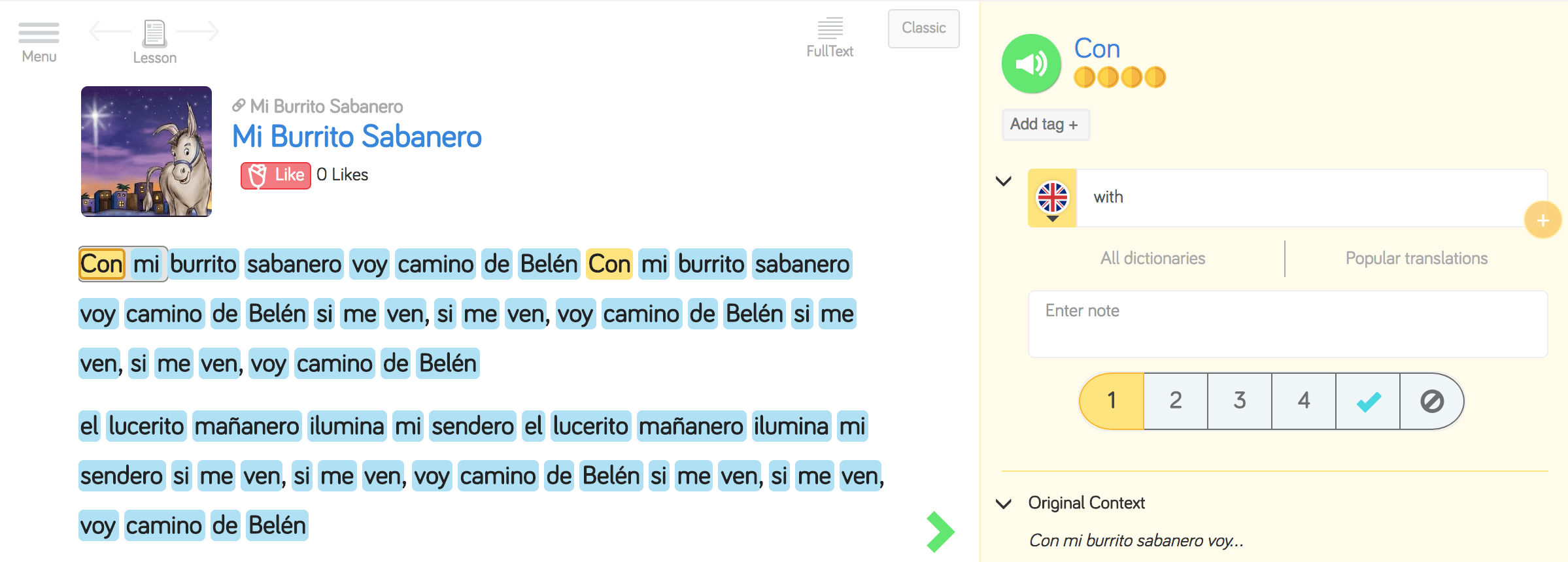 Learn Spanish on LingQ