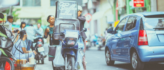 Scooters in China