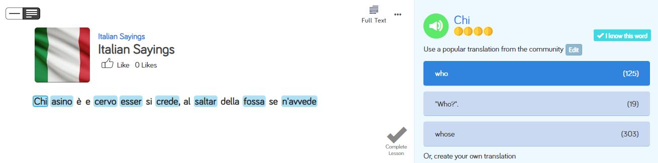 Italian Sayings that Will Help You Sound Like a Native Speaker