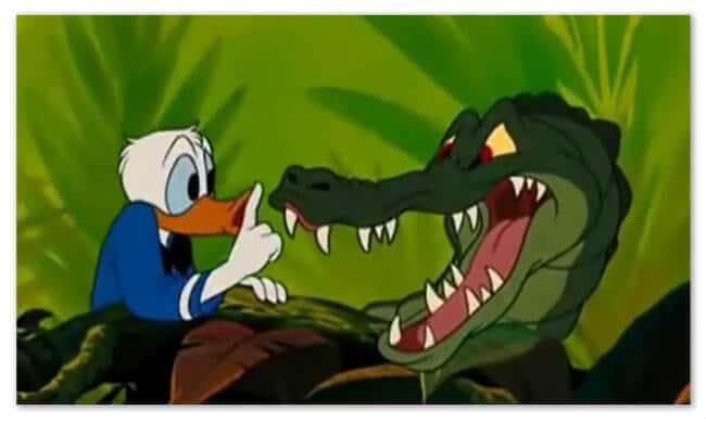 subtitles versus dubbing Sssshhh_Donald_Duck