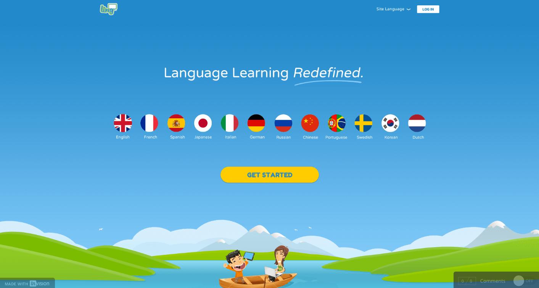 Lingq homepage draft