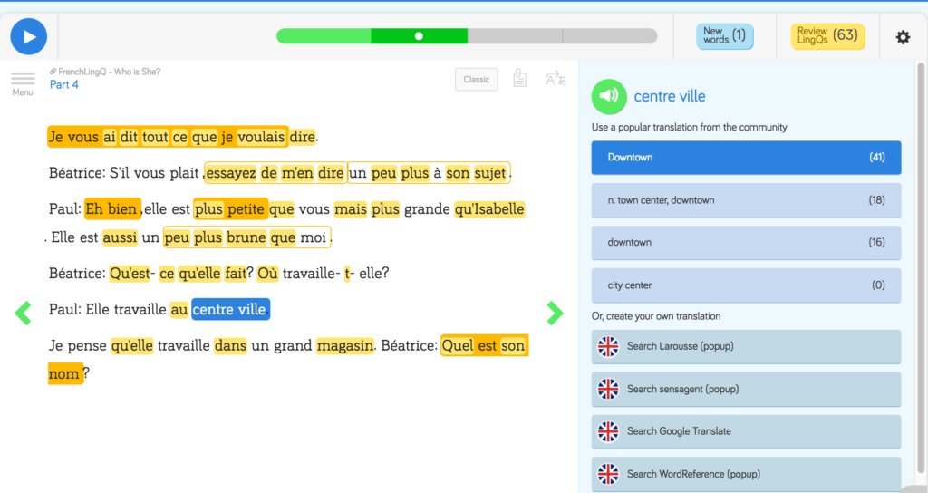 How to Expand Your Vocabulary in Your Target Language with LingQ