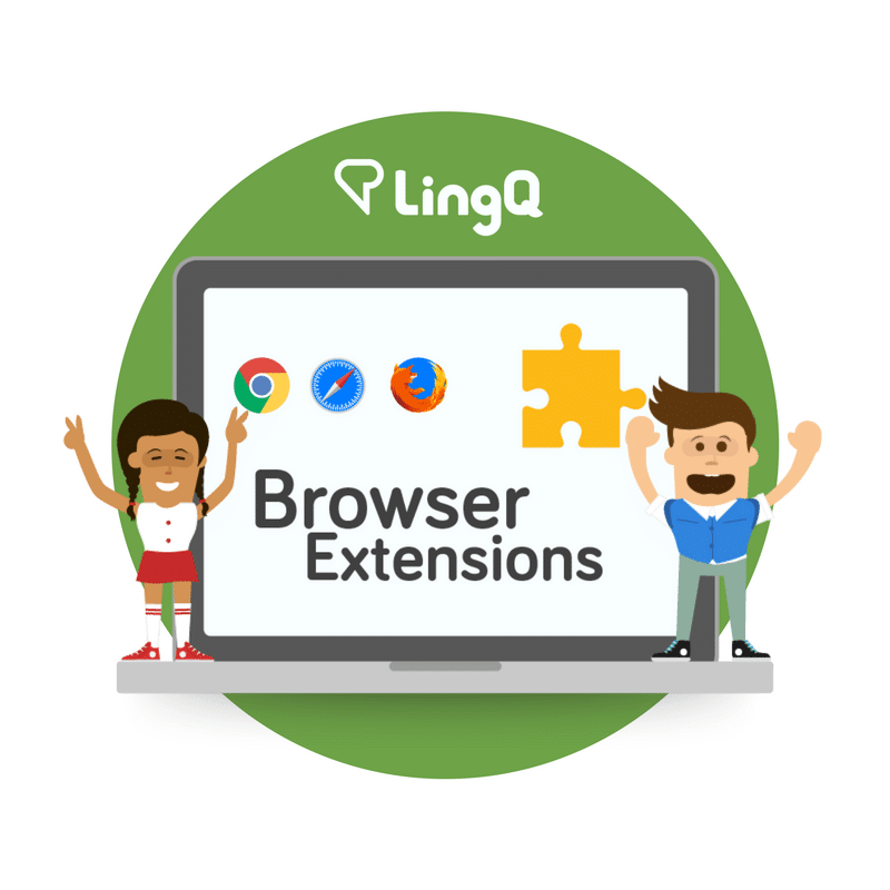 Learning Languages Online is Easy With the LingQ Browser Extensions!