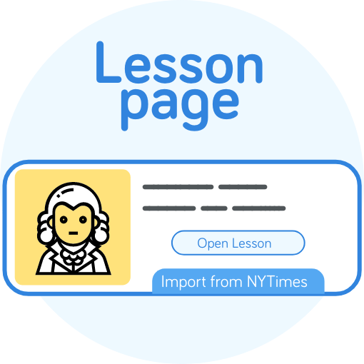 LingQ Lesson Page