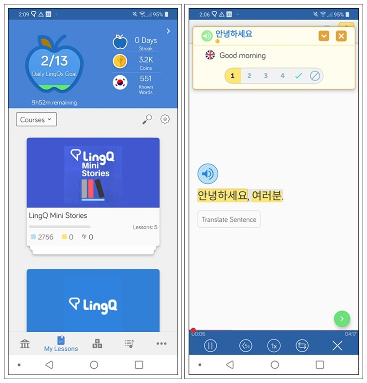 Learn Basic Korean on LingQ