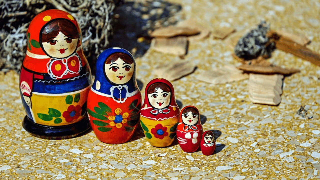 Russian Babushka doll