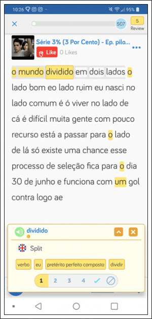 Learn Portuguese on LingQ