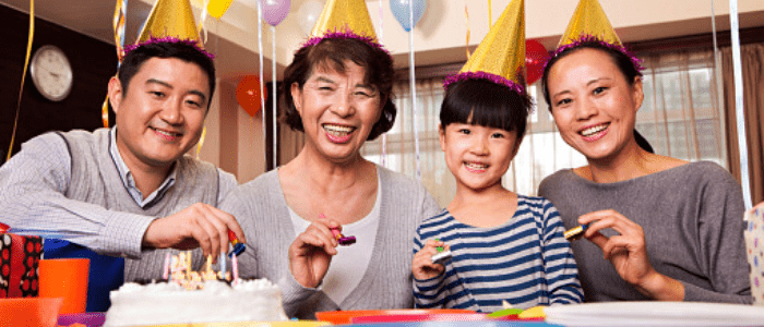 Saying Happy Birthday in Chinese